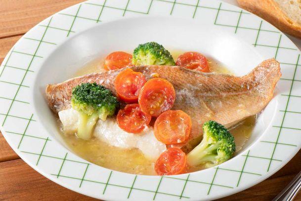 ホットクックでお手軽イタリアン!赤魚のアクアパッツァ